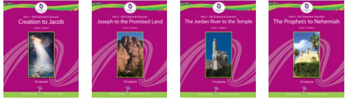 Level 4 – Ages 13 and up Old Testament Overview Grapevine Studies