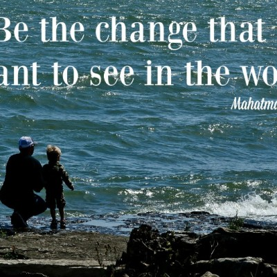 Homily Reflection – One Person CAN Change the World