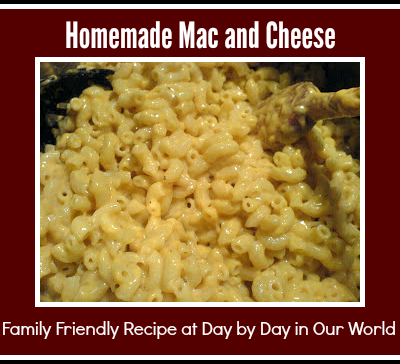 Mac and Cheese ~ One of the Ultimate Comfort Foods