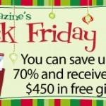 """Black Friday"" Sales for Homeschoolers"