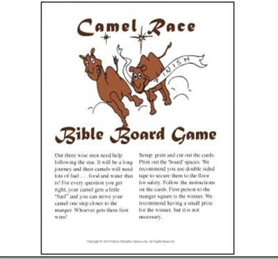 Race a Camel for Christmas Season Fun