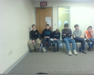 The O Boys as Geography Bee Participants