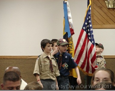 Moving Along in Cub Scouts