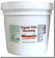 Tropical Traditions Organic Palm Shortening, a review