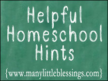 Homeschool Hints ~ Resources at Your Library 1
