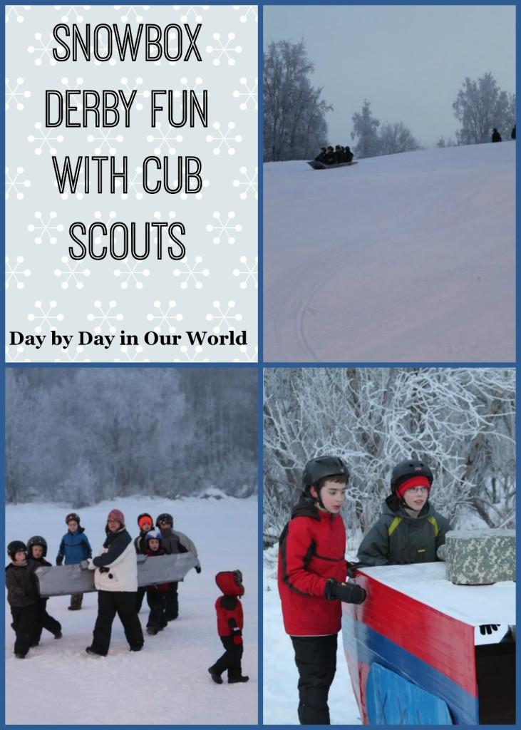 snowbox derby, Cub Scouts, Alaska