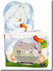 Five Little Bunnies from Twin Sisters, review and giveaway!
