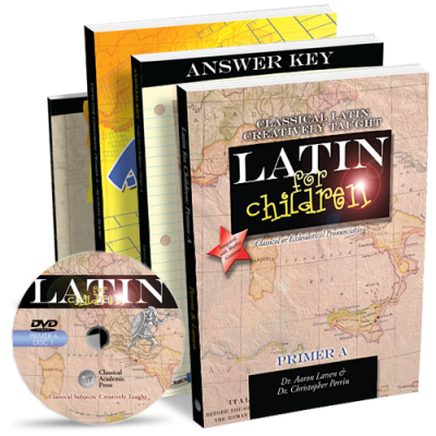 TOS Crew Review ~ Latin for Children Primer A