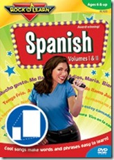 Rock N Learn Spanish DVD, a review & giveaway
