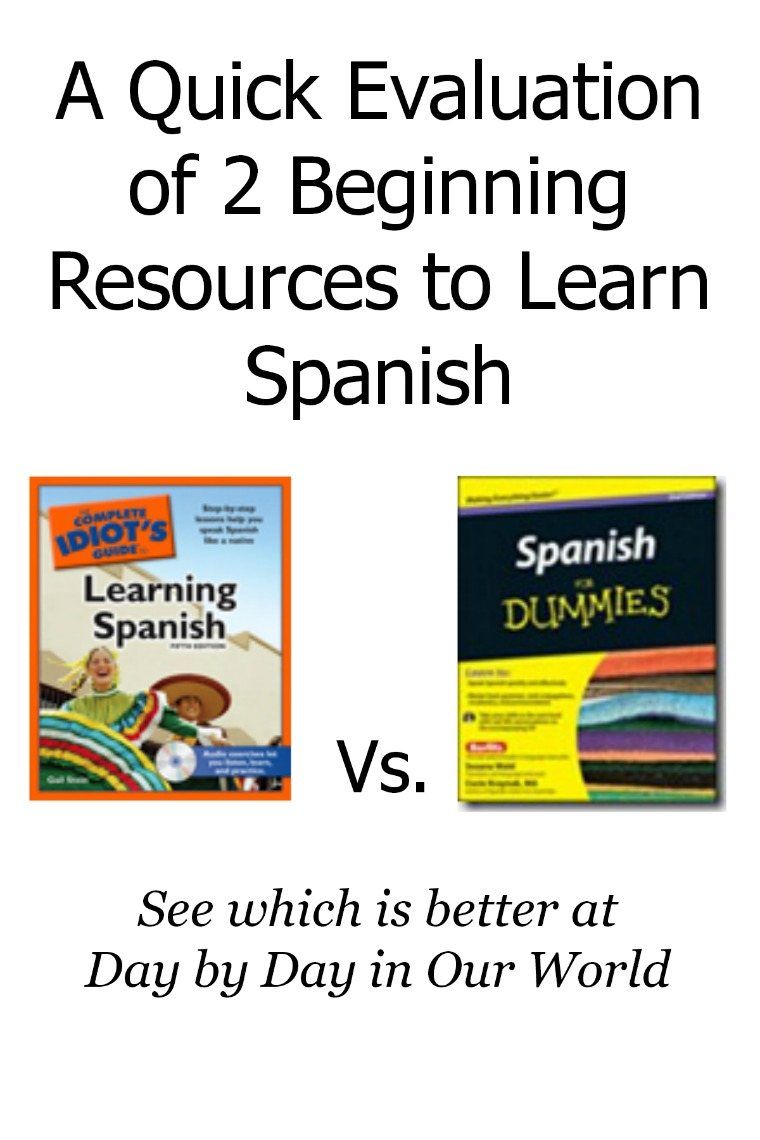 A Quick Evaluation of 2 Beginning Resources to Learn Spanish