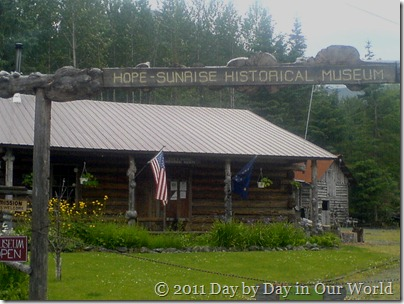 Entry to Hope Sunrise Historical Museum