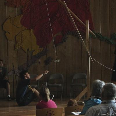 Alaska Native Heritage Center visit, Part I