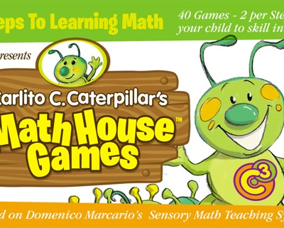 Carlito C. Catepillar's Math House Games, a review