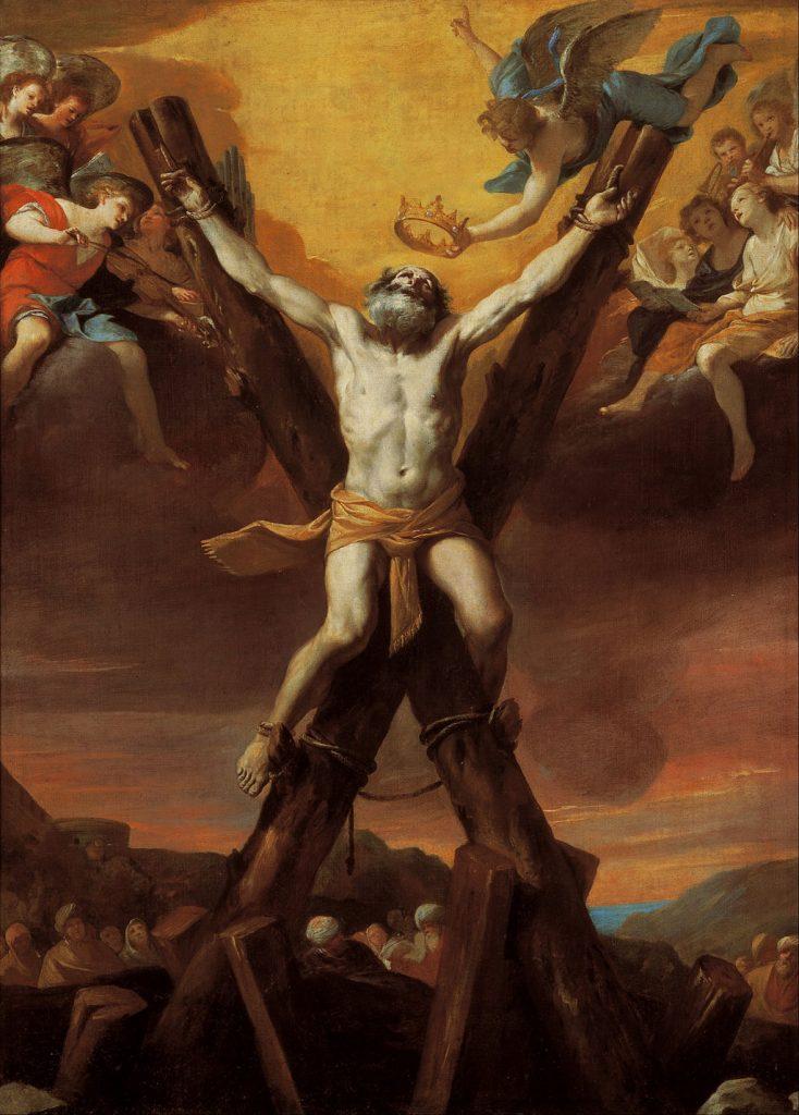 Mattia Preti - The crucifixion of St Andrew