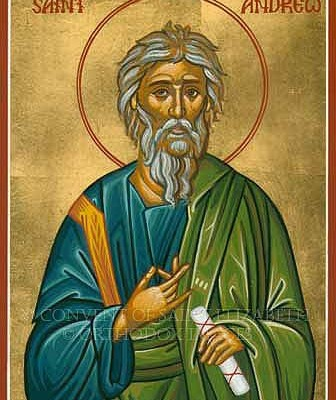 Feast of St. Andrew and Start of the Christmas Novena