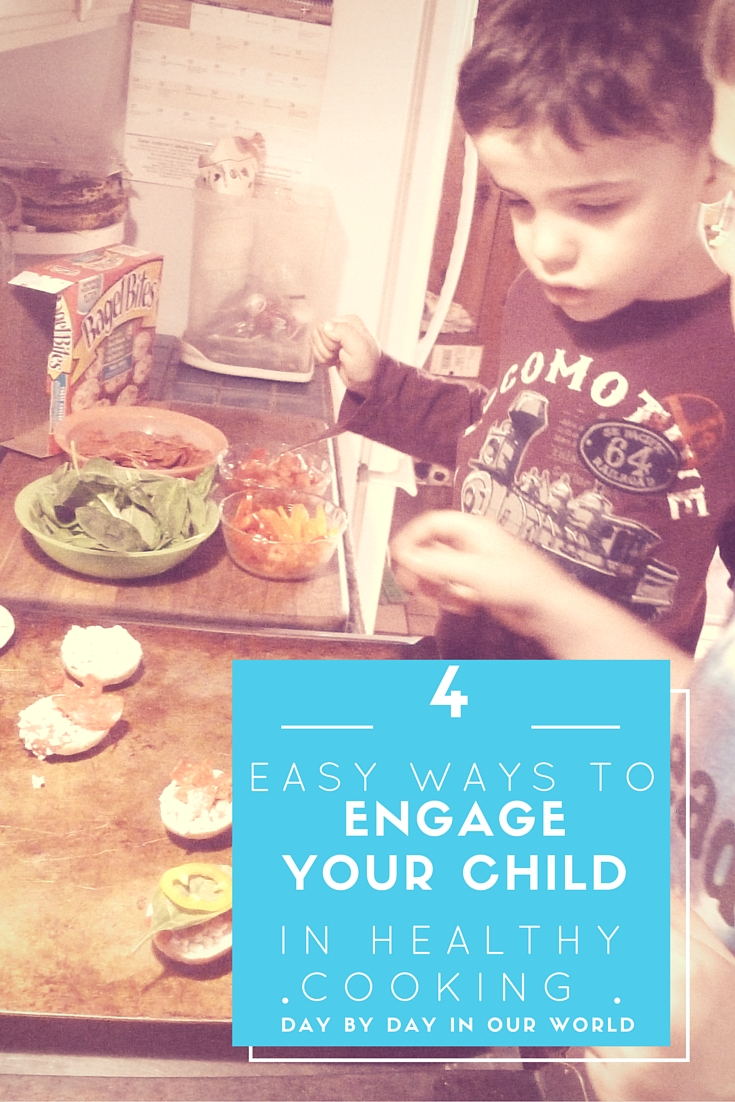 4 Easy Ways to Engage Your Child in Healthy Cooking