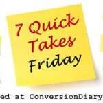 7 Quick Takes ~ Dec. 23rd edition