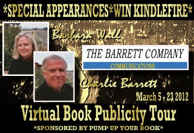 The Barrett Company Hollywood Book Publicity Tour + Win FREE Kindle Fire!