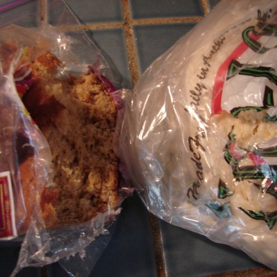 Wordless Wednesday ~ What Happens When Your Alaskan Freezer Goes to the Birds!