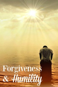 The Parable of the Pharisee and the Tax Collector reminds us that we must be humble when seeking forgiveness.