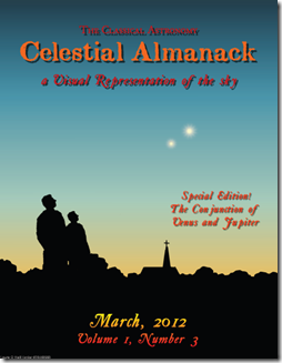 Celestial Almanack Vol. 1, Number 3 (March 2012)