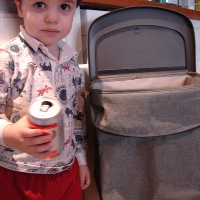 Rubbermaid Hidden Recycler ~ Control Clutter while Living Green