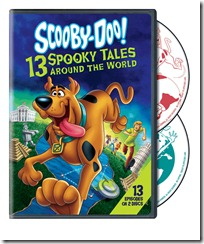 Scooby-Doo! 13 Spooky Tales Around the World on DVD