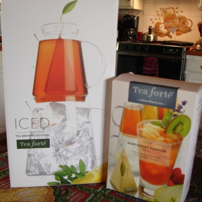 Tea Over Ice Brewing Pitcher from Tea Forte