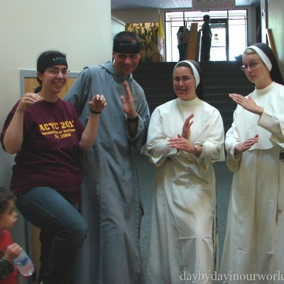 Wordless Wednesday ~ Catholic Ninjas?