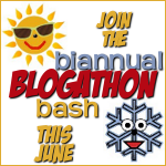 Joining the Biannual Blogathon Bash this weekend