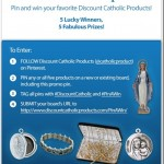 DISCOUNT CATHOLIC PRODUCTS PIN-A-WIN SWEEPSTAKES 2012, #PinAWin, #DiscountCatholic