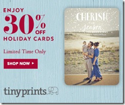 Tiny Prints Cyber Monday Sale Extended until 11/29/2012