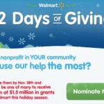 Walmart: 12 Days of Giving