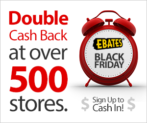 Ebates Black Friday Promotions & $100 Giveaway