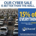 Vitacost Cyber Sale Promotion ~ Save Money on Great Healthy Products