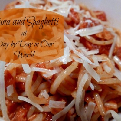 Tuna and Spaghetti ~ Great Meat-free dish for Lent and Beyond