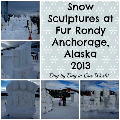 Creativity Abounds with Snow Sculptures at Fur Rondy 2013