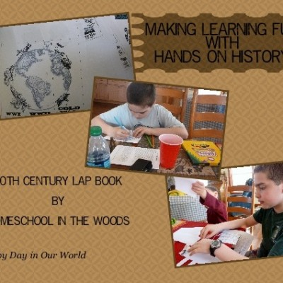 Hands on History of the 20th Century in America with Homeschool in the Woods