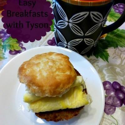 Easy Breakfast Times with Tyson #CBIAS #SocialFabric #DoItAllMom