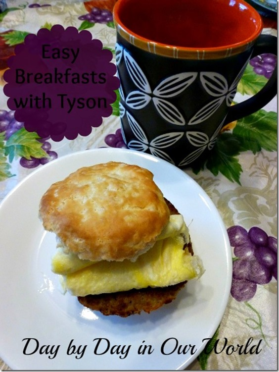Easy Breakfasts with Tyson #cbias #socialfabric