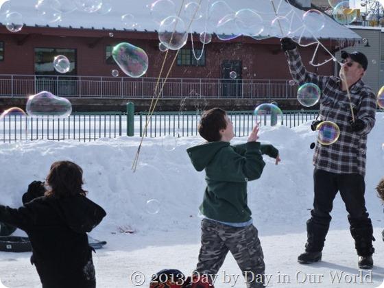 Abundance of Bubbles Fur Rondy 2013