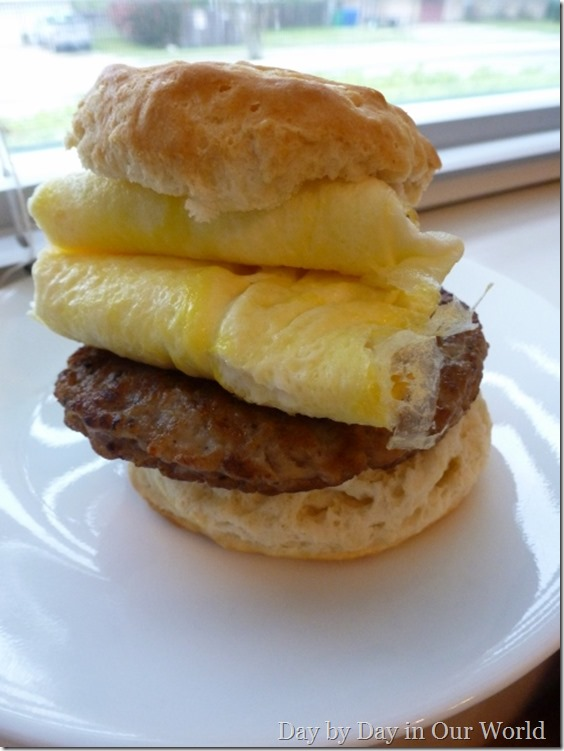 Breakfast Sandwich Tyson #cbias #socialfabric