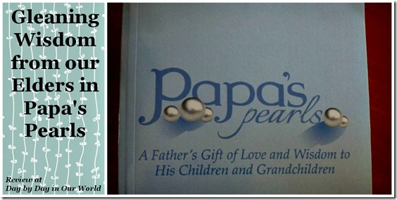 Papas Pearls of Wisdom Pin