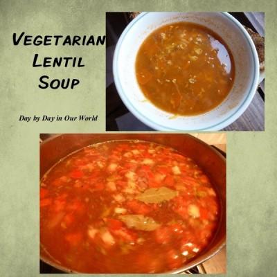Lentil Soup ~ Great Meatless Dish for Lent or Beyond