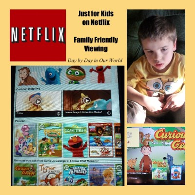 Netflix Just for Kids for Safe Family Viewing #NetflixKids