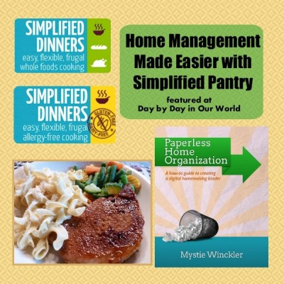 Getting Control of Your Meals and Life with Simplified Pantry