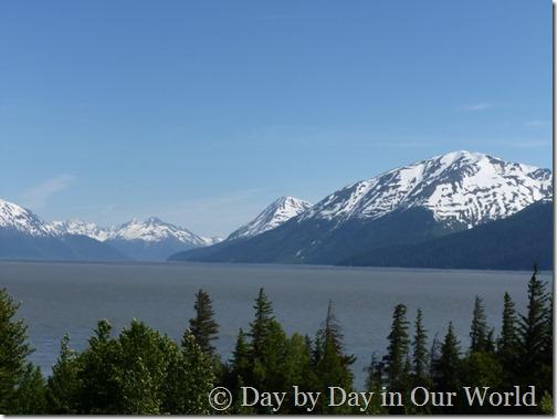 View from Bird Point Cook Inlet Alaska June 2013