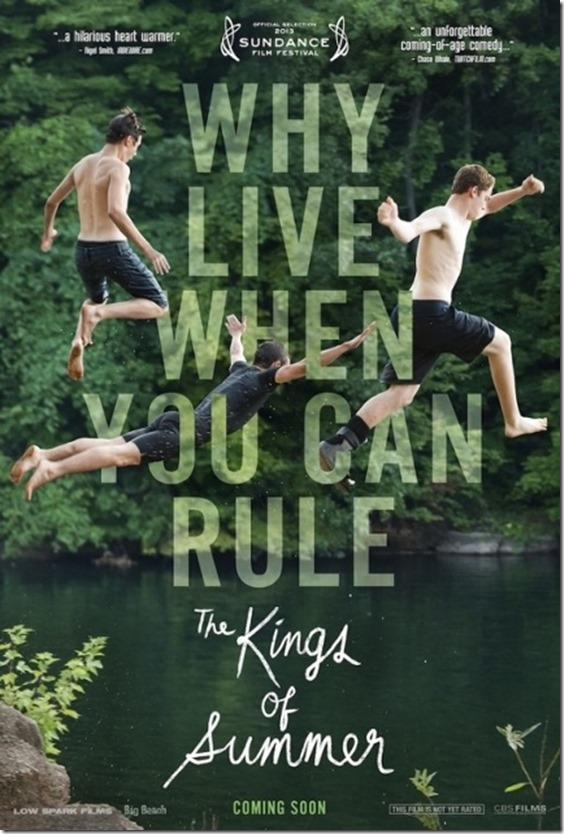 The Kings of Summer Movie Poster (431x640)