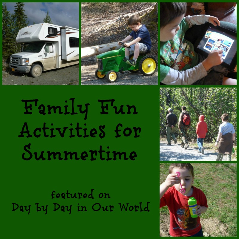 Family Activities: Ideas For Family Fun Activities For Summertime