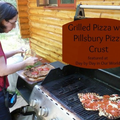 Keep Your Kitchen Cool ~ Make Grilled Pizza Instead!